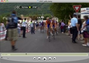 Rabobank leads up Plateau de Beille in 2007