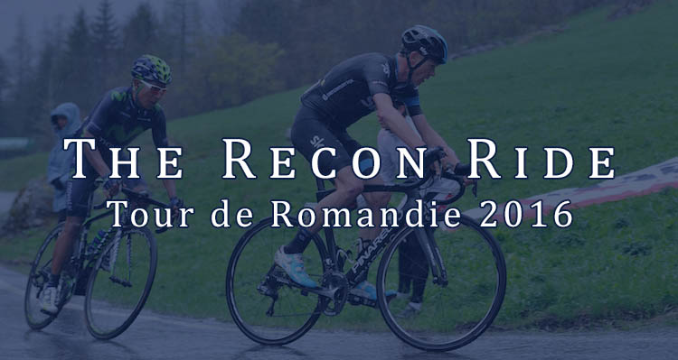 The Recon Ride Tour de Romandie 2016